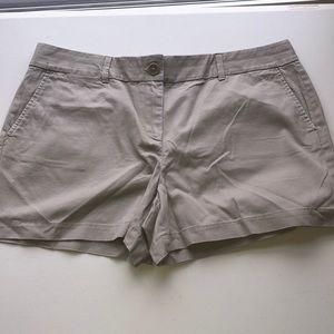 Ann Taylor LOFT Gray Shorts